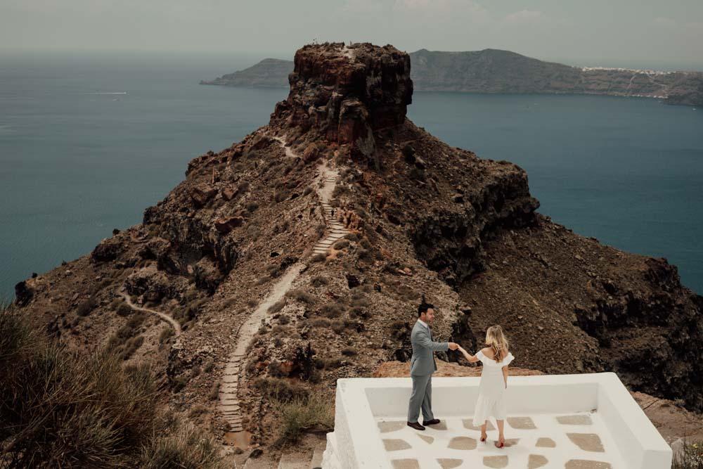 Santorini Elopement Photographer Videographer 32